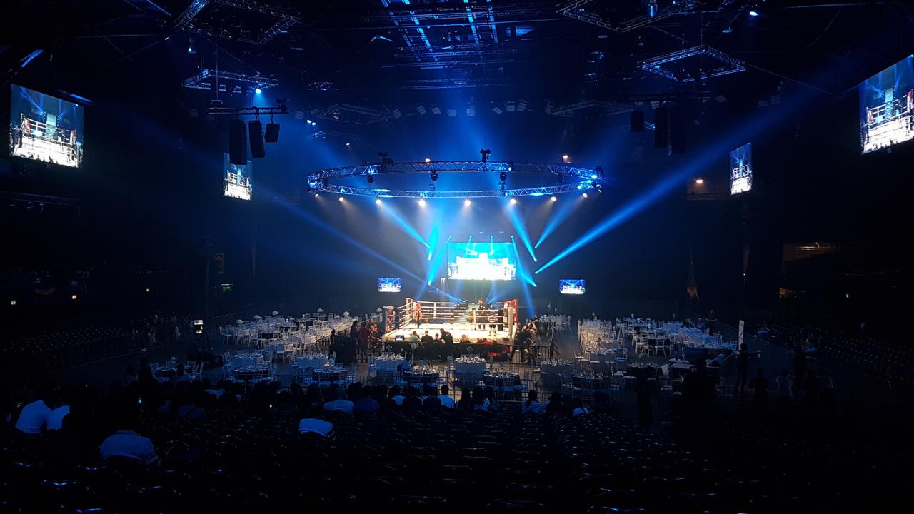 Ledscreens for box gala @ Palais 12 Heysel