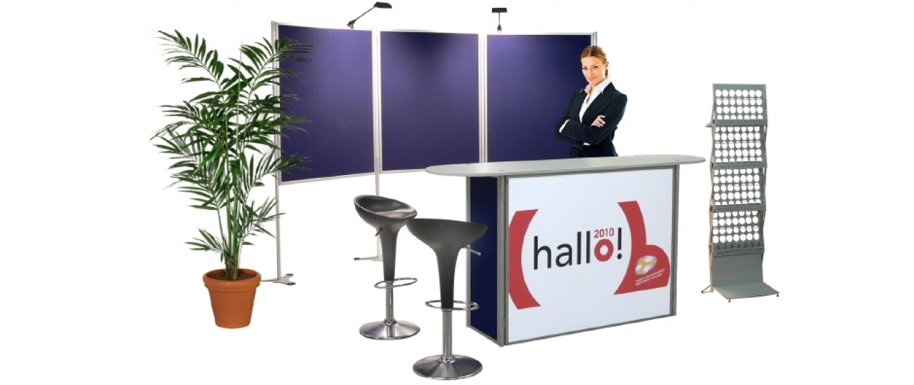 Rental of welcome stands