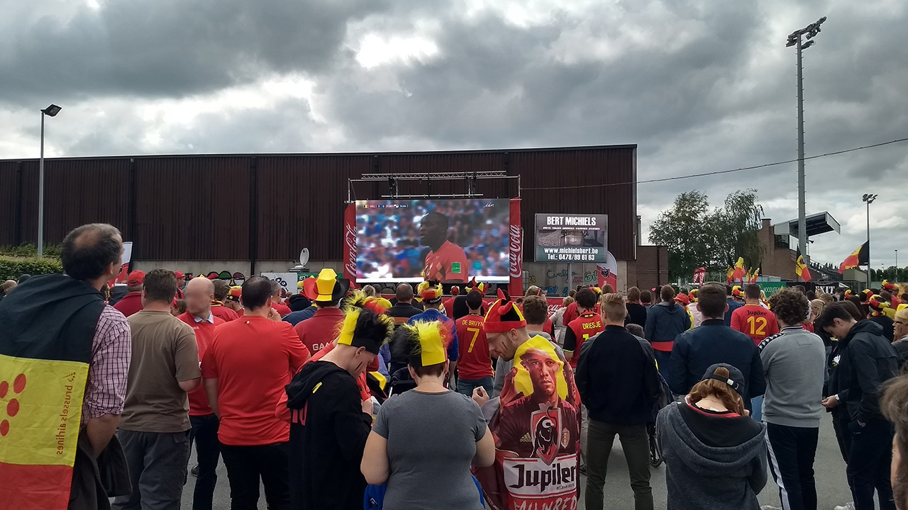 Big screen & PA @ World Cup 2018