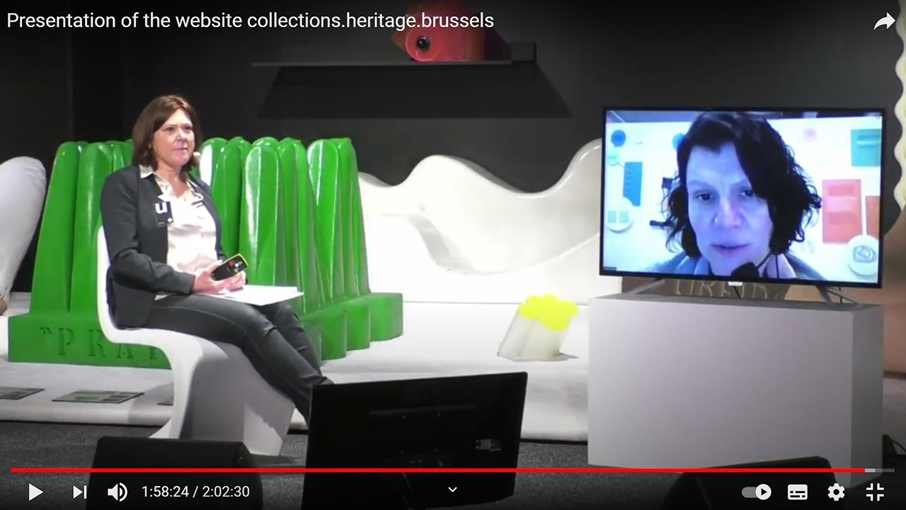 Captation video & diffusion live Youtube @ Brussels Design Museum