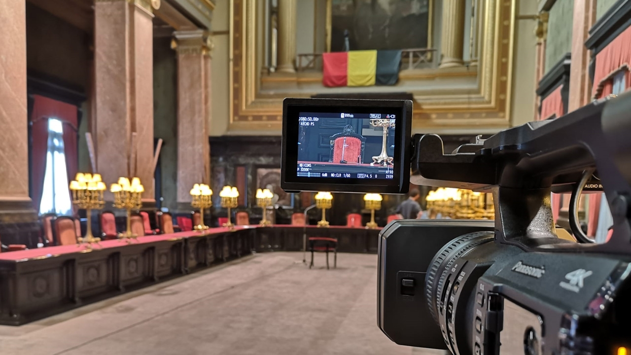 Multi-camera capture @ Brussels Courthouse