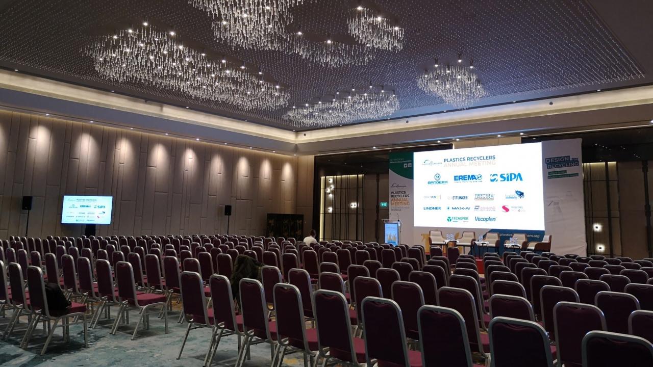 Rental event technologies (PA, video, digital lectern…) @ Hotel Brussels