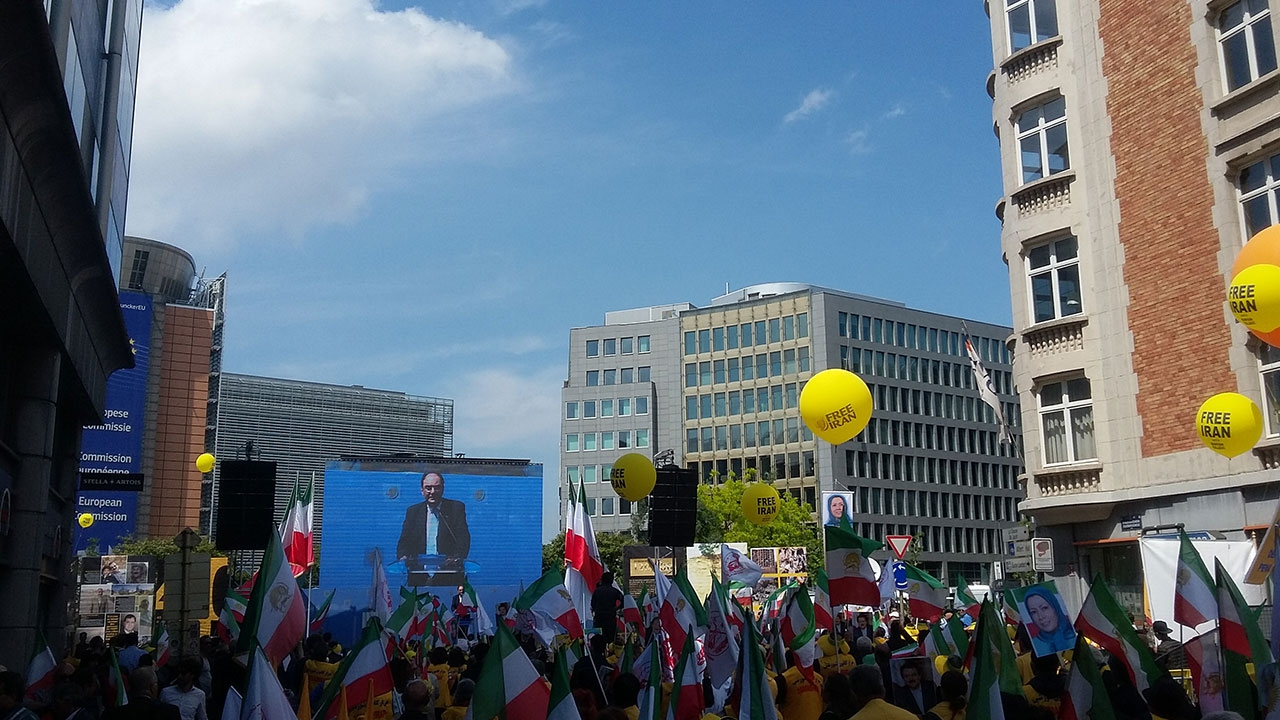 Location Ecran Led pour manifestation @ Rond-point Schuman
